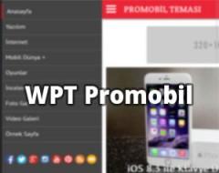 WPT Promobil Mobil Teması