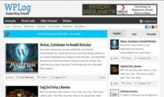 WPLog Ücretsiz Kişisel Blog Teması