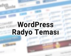 5 Renkli WordPress Radyo Teması