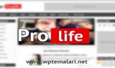 WPT Prolife Portal Teması