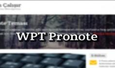 WPT Pronote Blog Teması