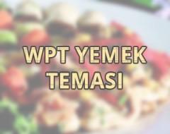 WPT Yemek Tarif Teması