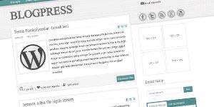 blogpress teması
