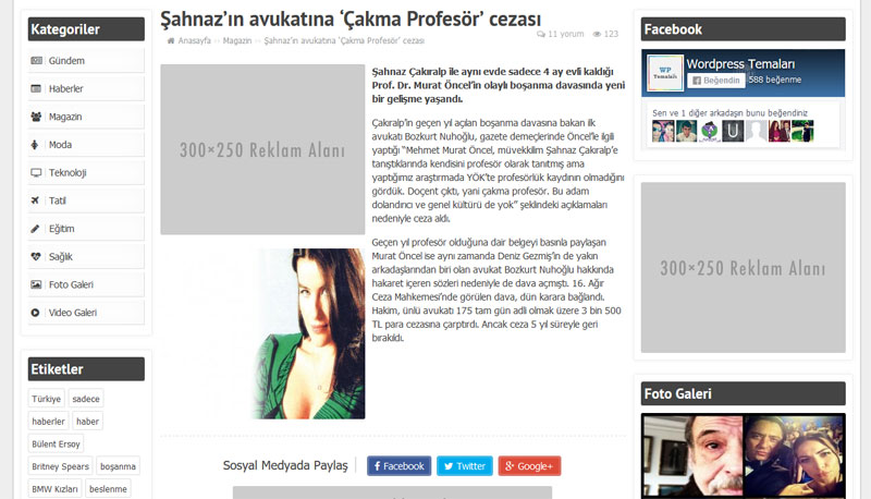 Yazı Sayfası