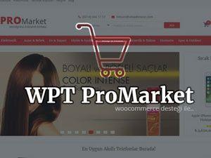 Wpt Promarket E-Ticaret Teması