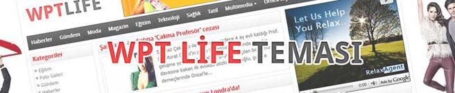 wpt life portal teması