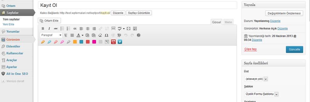 wptport-sayfa-sablon